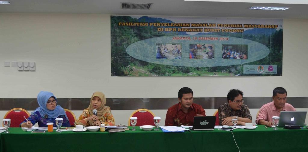 workshop KPH Benakat Bukit Cogong