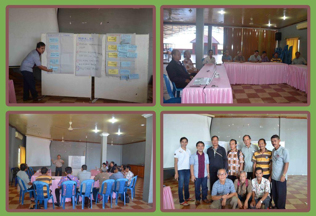 Pertemuan Desa/Kampung di Kabupaten Kapuas Hulu