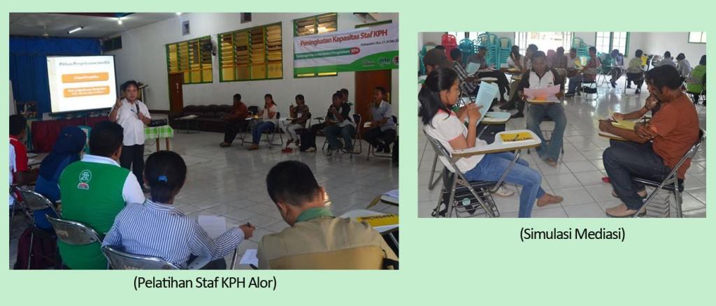 Foto Inhouse Trainning KPH Alor