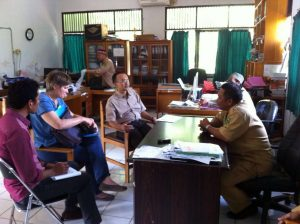 Diskusi di Dinas Kehutanan Berau